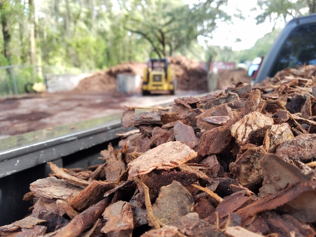 mulch gainesville lawn care