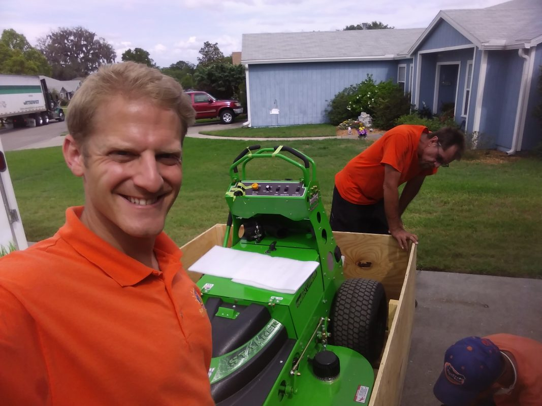 sustainable lawn care service gainesville