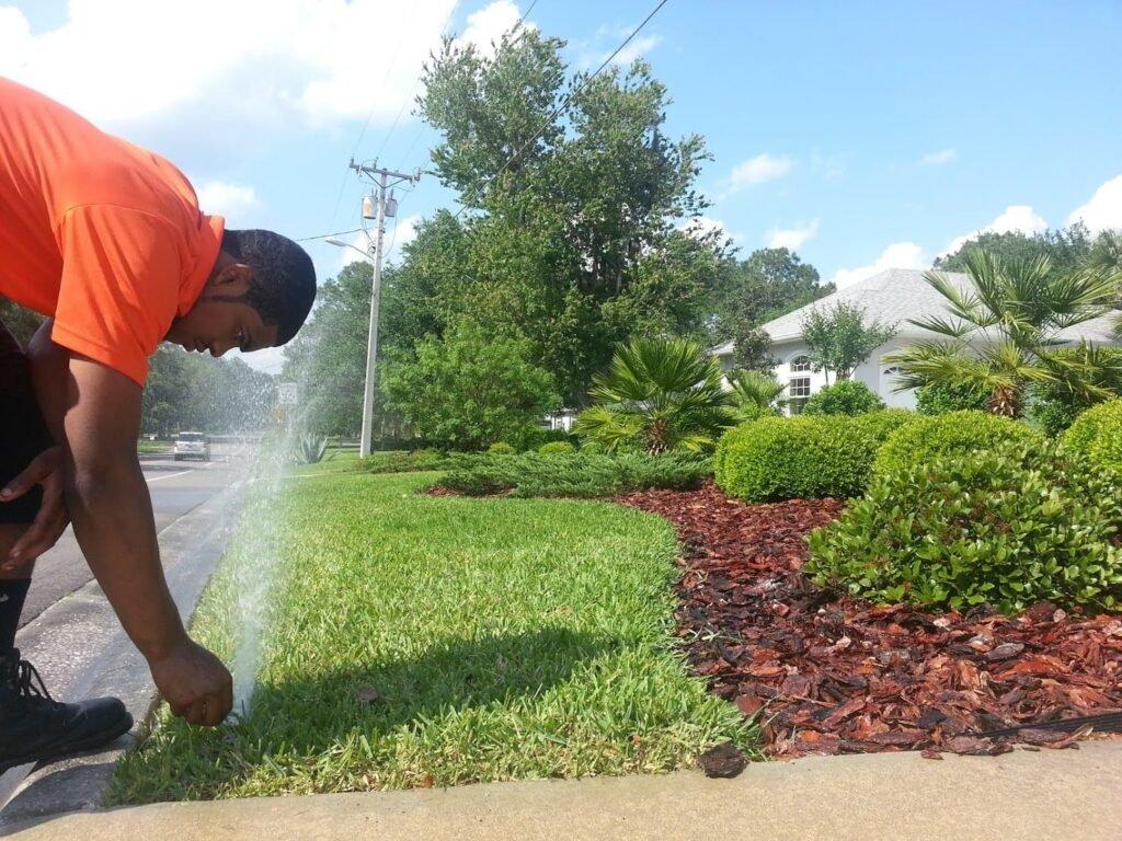 sprinkler system check gainesville fl