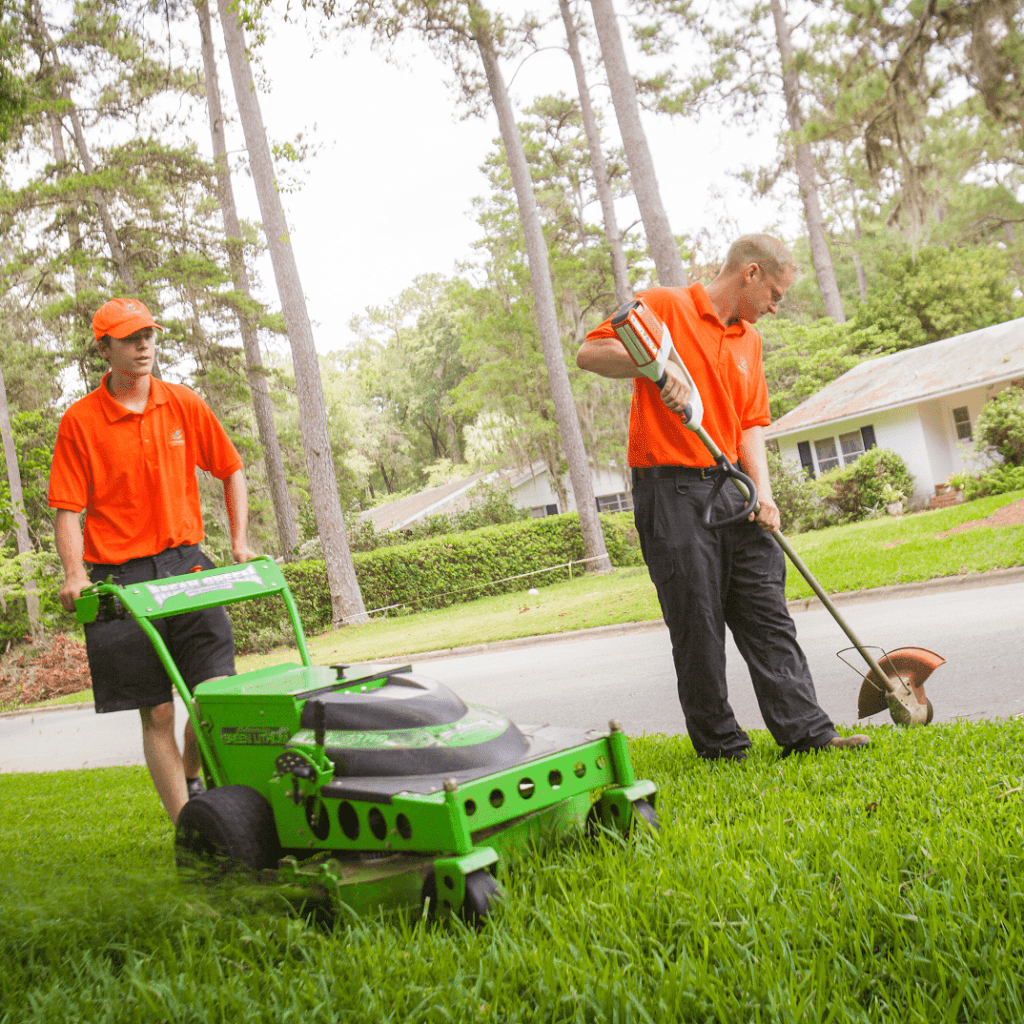 short-term lawn service gainesville fl