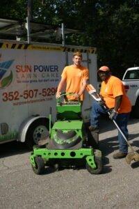 sun power lawn care team lawn maintenance in gainesville fl