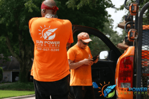 electric lawn care benefits employees and lawn care