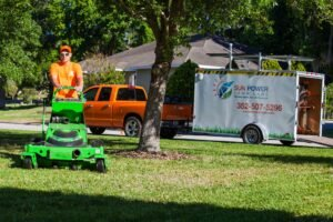 the best lawn care service job in Gainesville, FL